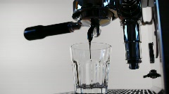 Espresso Bean Machine Stock Footage
