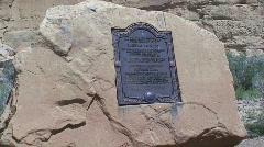 Pueblo Bonito 1 - Chaco Canyon - stock footage