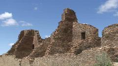 Pueblo Bonito 3 - Chaco Canyon Stock Footage
