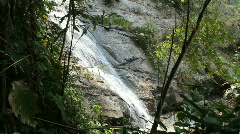 Waterfall in rain forest Stock Footage