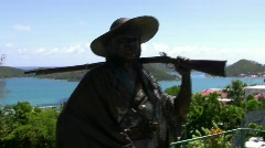 Saint Thomas Blackbeard Castle 2 Stock Footage