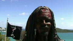 Saint Thomas Blackbeard Castle Stock Footage