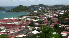 Saint Thomas Homes Stock Footage