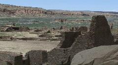 Pueblo Bonito 9 - Chaco Canyon Stock Footage