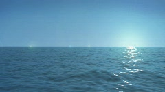 Ocean seamless loop Stock Footage
