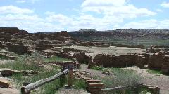 Pueblo Bonito 11 - Chaco Canyon Stock Footage