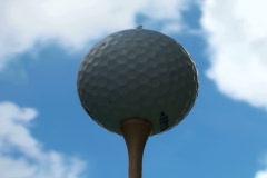 Golf ball time lapse V4 - NTSC Stock Footage