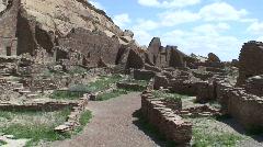 Pueblo Bonito 12 - Chaco Canyon Stock Footage
