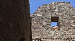 Pueblo Bonito 17 - Chaco Canyon Stock Footage