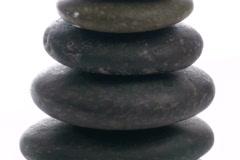 Zen rocks zoom  - NTSC - stock footage