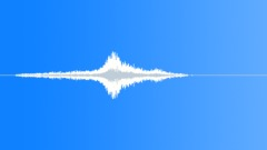Metallic Vocal Whoosh Sound Effect