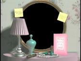 0529 Bridal Dressing Mirror  Stock Footage