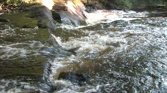 Stock Video Footage of Stubbs Falls in Arrowhead Park