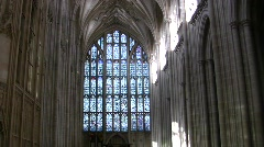 Winchester cathedral 1 england Stock Footage