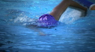 Swimming Training Stock Footage