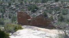 Stronghold House 2 - Hovenweep - stock footage