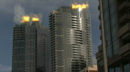 High Rise Fire 1 Stock Footage