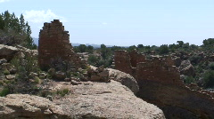 Stronghold House 3 - Hovenweep Stock Footage