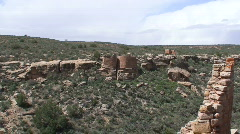 Twin Towers 1 - Hovenweep - stock footage