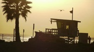 Stock Video Footage of Southern California Beach Series