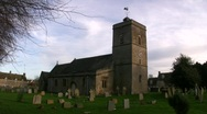 Stock Video Footage of cotswolds england cemetary