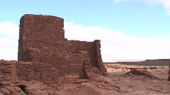Wukoki 2 - Wupatki National Monument Stock Footage