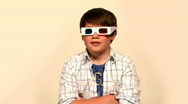3D Glasses 1542 Stock Footage