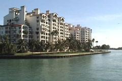 Miami Beach Condos 2 Stock Footage