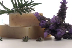 Herbal soap and lavender loop V3 - NTSC Stock Footage