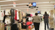 Bulky Shopper 2 Stock Footage