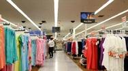 Retail store Stock Footage