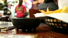 Mexican Restaurant Stock Footage