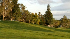 Golf Course Real Estate Stock Footage