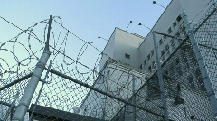 Stock Video Footage of Jail Prison Exterior 3