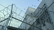 Jail Prison Exterior 3 Stock Footage