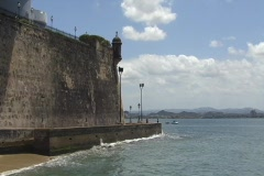 Puerto Rico - San Juan: guerite at governor mansion Stock Footage