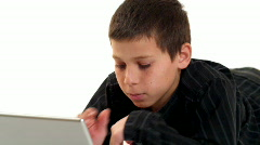 Youthful Laptop 01 (1080p / 23.98) - stock footage