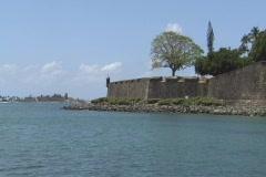Puerto Rico - San Juan: old city walls. Stock Footage