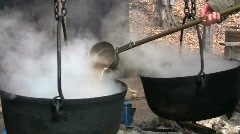 MapleSyrup4 Transfer Maple Syrup Stock Footage