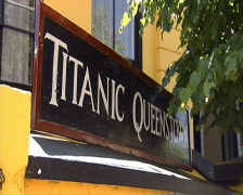 Titanic Plaque Stock Footage