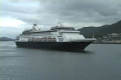 Holland America Port Stock Footage