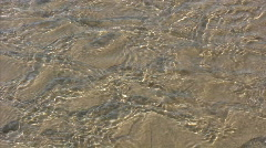 runlet on a beach - stock footage