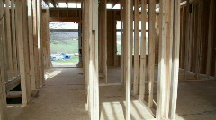 New Home Frame Stock Footage
