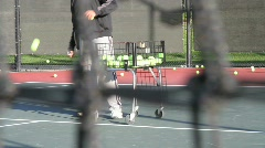 Male Tennis Coach 2 - stock footage