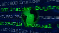 stockexchange background - stock footage