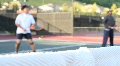 Tennis Doubles Footage