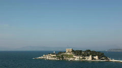 Pigeon Island Fortress Stock Footage