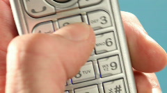 HD 1080p - making a phone call - stock footage