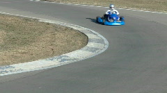 cart on track - stock footage