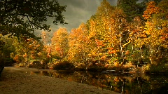 Fall River Scenic - stock footage